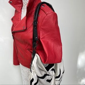 Leigh & Luca New York Bags - Leigh & Luca New York Leigh Feather Hobo Purse